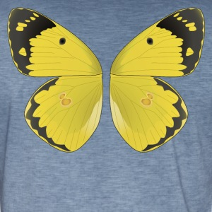 butterfly I - Vintage-T-shirt herr