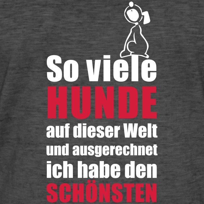 Vorschau: Der schönste HUND - Männer Vintage T-Shirt