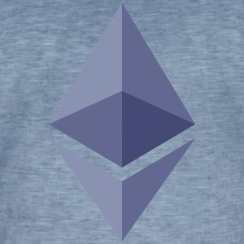 Etherum - Vintage-T-shirt herr
