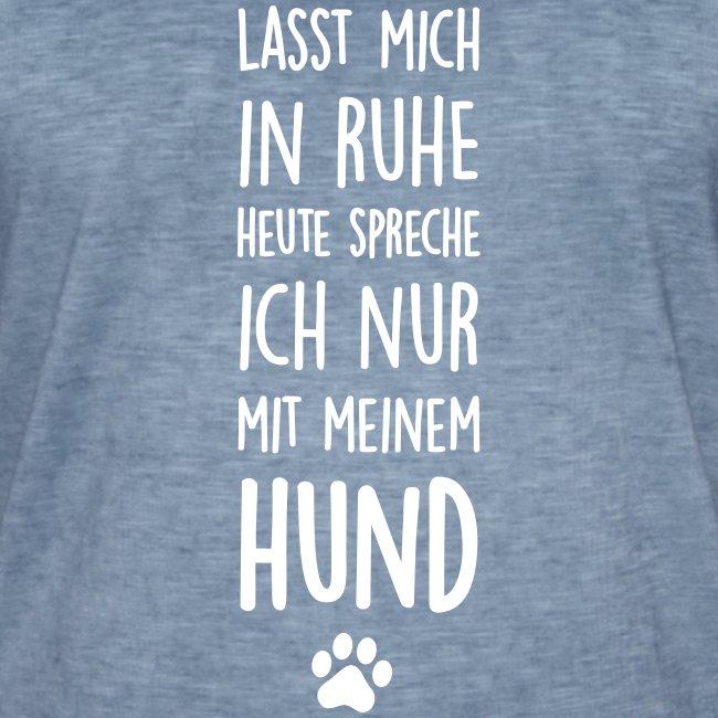 Vorschau: Lasst mich in Ruhe Hund - Männer Vintage T-Shirt