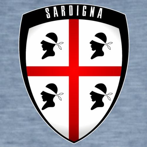 Sardegna Stemma - Maglietta vintage da uomo