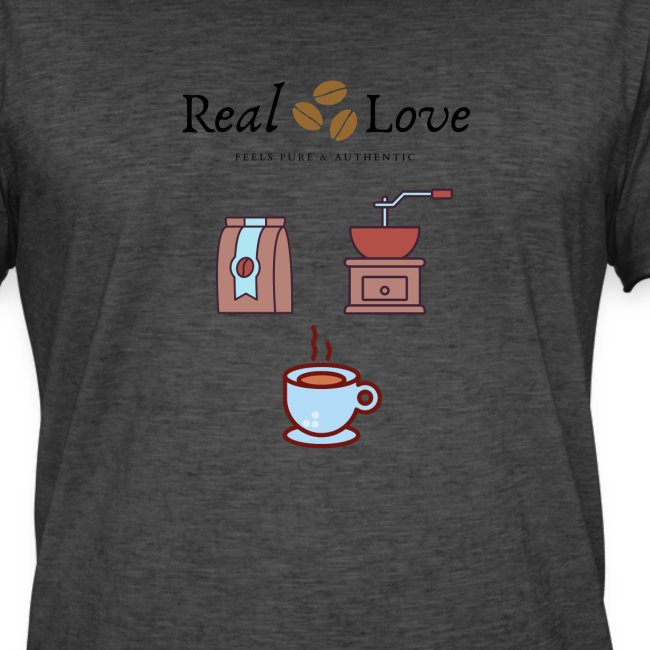 Coffee is Real Love, Pure And Authentic