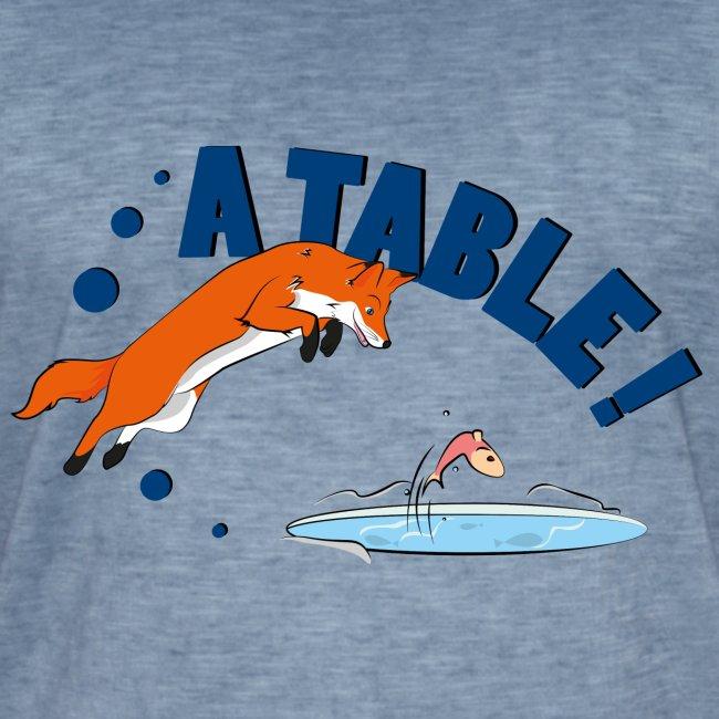 fox a table !