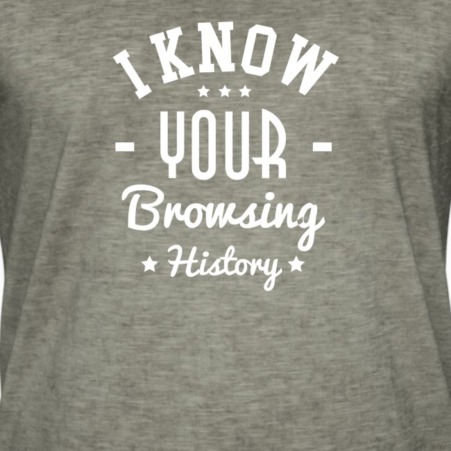 I know your browsing History