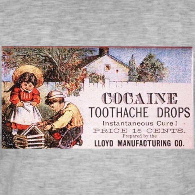 Kokain Werbung