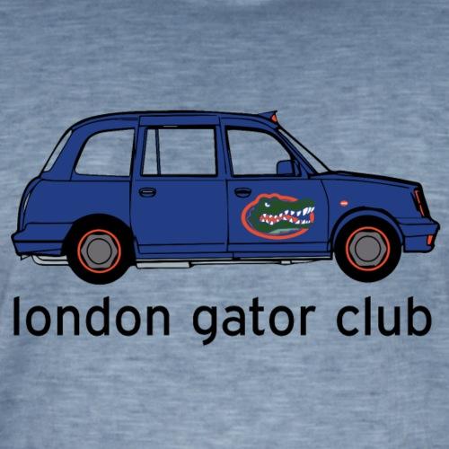 London Gator Club Taxi - Men's Vintage T-Shirt