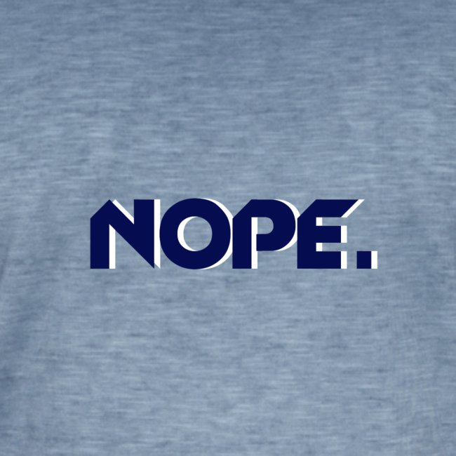 T-shirt NOPE. Homme