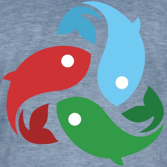 De fiskede fisk