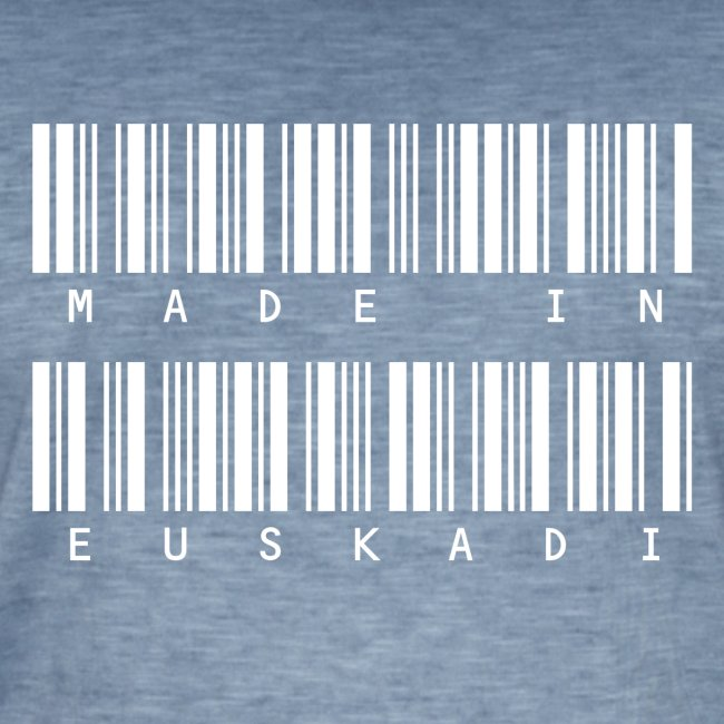 Made in Euskadi White Clean