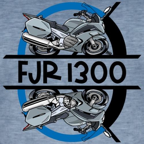 FJR RECHTS LINKS - Mannen Vintage T-shirt