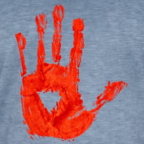 Bloody Hand - Vintage-T-shirt herr