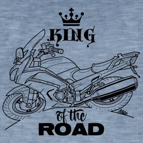 0882 FJR KING of the ROAD - Mannen Vintage T-shirt