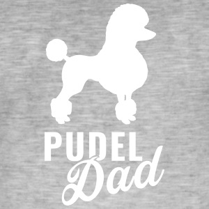 Poodle - Poodle Dad - Men's Vintage T-Shirt