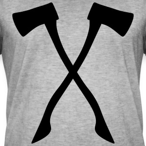 Ax - male and useful at the same time! - Men's Vintage T-Shirt