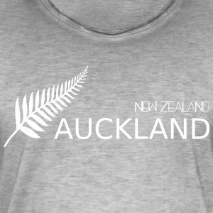 auckland new zealand - Mannen Vintage T-shirt