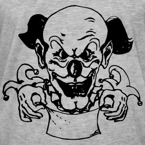 Clown - Männer Vintage T-Shirt
