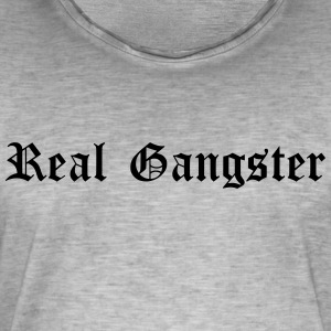 Real Gangster - Men's Vintage T-Shirt