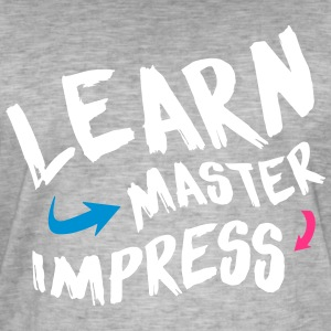 Learn Master Impress 2017 - Men's Vintage T-Shirt