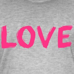Love - Men's Vintage T-Shirt