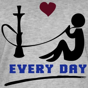 SHISHA EVERY DAY! - Männer Vintage T-Shirt