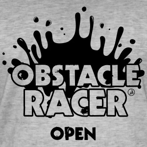 Open Obstacle Racer - Men's Vintage T-Shirt