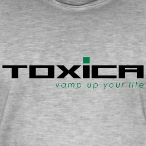 toxica - T-shirt vintage Homme