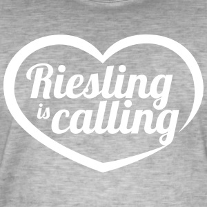 Riesling is calling - Men's Vintage T-Shirt