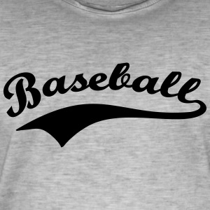 base-ball - T-shirt vintage Homme