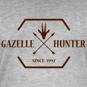 Gazelle HUNTER - Männer Vintage T-Shirt