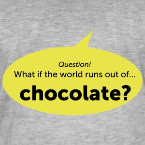 Chocolate - Men's Vintage T-Shirt