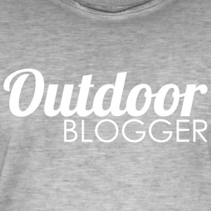 Outdoor Blogger - Vintage-T-shirt herr