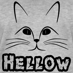 hellow - T-shirt vintage Homme