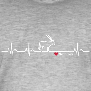I love Namibia - Men's Vintage T-Shirt