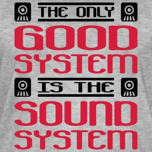 the only good system is the soundsystem - Männer Vintage T-Shirt