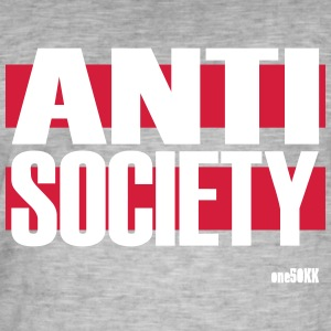 Anti Society - Männer Vintage T-Shirt