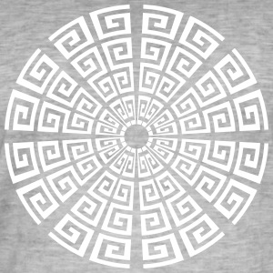 23 spiral cycle - Men's Vintage T-Shirt