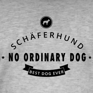 Schäfer - No Ordinary Dog - Vintage-T-shirt herr