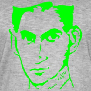Portrait of Franz Kafka - Men's Vintage T-Shirt