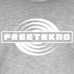 011 freetekno - Men's Vintage T-Shirt