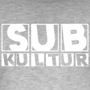 23 0127 subculture - Men's Vintage T-Shirt