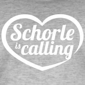 Schorle is calling - Men's Vintage T-Shirt