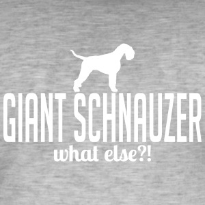 Schnauzer whatelse - T-shirt vintage Homme