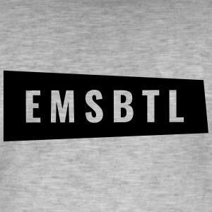 Eimsbüttel - EMSBTL in oblique box - Men's Vintage T-Shirt