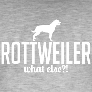 Rottweiler whatelse - Herre vintage T-shirt