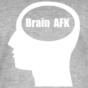 Brain AFK - Men's Vintage T-Shirt
