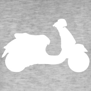Hipster - Scooter - Men's Vintage T-Shirt