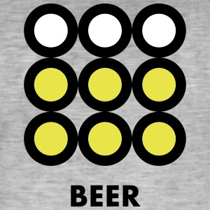 Beer. See also the Wine version. - Men's Vintage T-Shirt