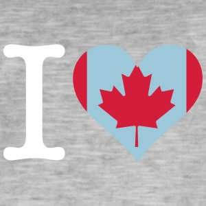 I Love Canada - Men's Vintage T-Shirt