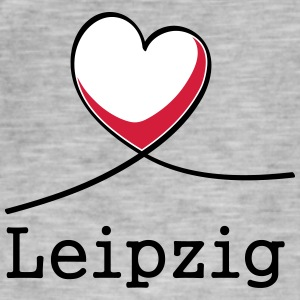 I love Leipzig! - Men's Vintage T-Shirt