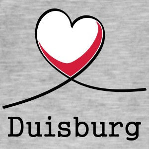 I love Duisburg! - Men's Vintage T-Shirt